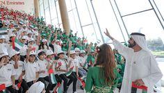 Sheikh Mohammed celebrates Flag Day at Union House