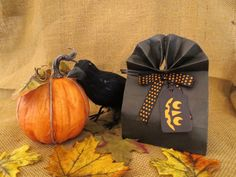 Stationery  Halloween  Handmade Gift Tags   by PaperVelvetWood