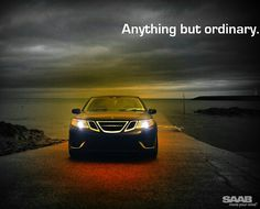 "The Saab 9-3 Sport Sedan ""Anything But Ordinary"" #SAABLOVE #SAABNATION #SAABUSA saabusa.com saabsunited.com"