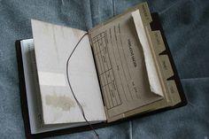 Traveler's Notebook Passport Size - custom notebook pocket inserts by Patrick Ng, via Flickr