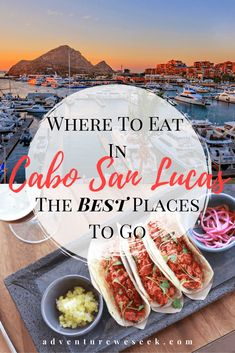It's sunny, it's beautiful and there's some amazing food to be had in Cabo San Lucas, Mexico. These are the 11 best restaurants is Cabo San Lucas to eat at. Tulum Mexico, Cabo San Lucas Mexico, San Jose Del Cabo, Khao Lak Beach, Lamai Beach, Koh Chang, Mexico Travel, Spain Travel, Best Places To Eat