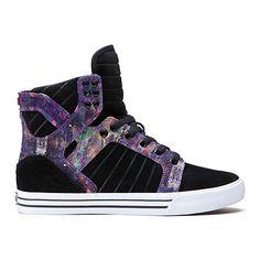 SUPRA Footwear™ | Official Store | SKYTOP | BLACK/AURORA - WHITE