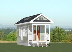 8x28 Tiny House -- #8X28H1B