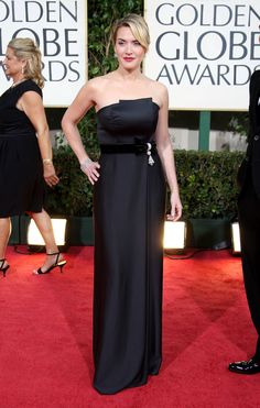 Kate Winslet in Yves Saint Laurent bei den Golden Globes (2009)