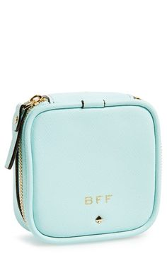 kate spade new york 'wedding belles - small grayden' leather pouch available at #Nordstrom