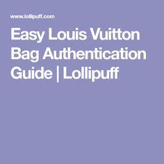 Easy Louis Vuitton Bag Authentication Guide Lollipuff >> 84 Best Louis Vuitton Images In 2019 Louis Vuitton Bags Louis