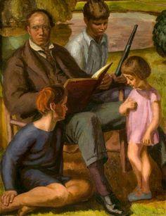 Bell, Vanessa - Clive Bell and family (Angelica en haar twee broers)