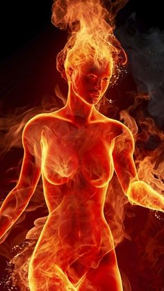 Woman On Fire Android Wallpaper Dark Fantasy, Fantasy Art, Transférer Des Photos, Images Emoji, Flame Art, Fire Element, Hot Flashes, Fire And Ice, Galaxy Wallpaper
