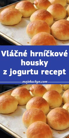 Czech Recipes, Ciabatta, Ham, Yogurt, Food And Drink, Cookies, Baking, Breakfast, Hampers