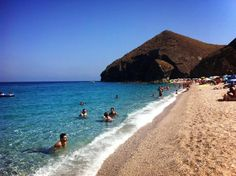 Playa de los Muertos, Costa de Almeria - Andalousie (Espagne)
