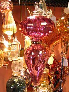 Egyptian Glass - I love glass blown ornaments