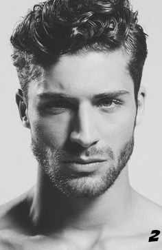 Curly Hairstyles For Men Brilliant Pinandré Brom On Macho Moda  Pinterest  Haircuts Hair Style