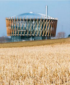Biomassekraftwerk, Schwendi, 2006-08, design: Matteo Thun, photo: Jens Weber