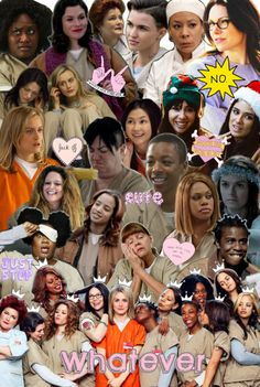 collage orange is the new black - Google Search