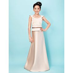 YORKSHIRE - Vestido de Damita de honor de Satén – EUR € 59.99