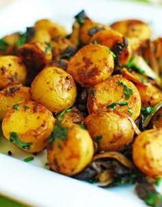 Chile-Lemon Roasted Baby Potatoes