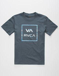 RVCA Barracuda Boys T-Shirt  Blue