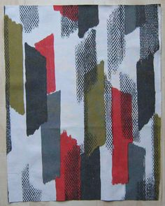 Vintage Fabric 1960s Francis Price