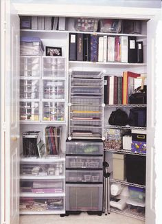 organized closet....mine is NOT like this!!!