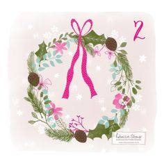 Illustrated Advent 2015 Day 2 by Rebecca Stoner
