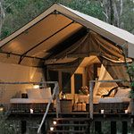 The Only way to camp - Luxury Camping at Paperbark Camp, Woollamia, Australia #sliceofheaven