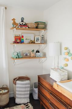 Touring An 'Urban Vintage' Nursery Space | Glitter Guide