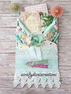 A Crafty Divaz Creations: Loaded Envelope-Shabby Chic