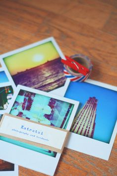 Polaroid pack pictures New York by Katratzi on Etsy