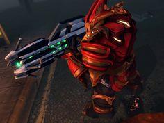 XCOM Alien Lifeform - Muton Elite