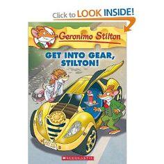 Geronimo Stilton #54: Get Into Gear, Stilton!: Amazon.ca: Geronimo Stilton: Books