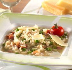 Risi e bisi, vagyis az eredeti rizibizi – Receptletöltés Risotto, Potato Salad, Potatoes, Ethnic Recipes, Food, Potato, Essen, Meals, Yemek