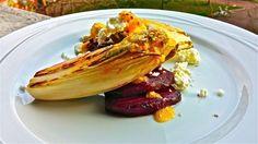 Ensalada de remolacha y endivias a la plancha, por Patxi Gimeno, cocinero deportivo www.patxigimeno.com