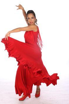 FLAMENCITA Dress ,Flamencita design, Professional flamenco spanish dress ,Size M/L. $139.00, via Etsy.