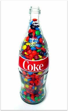 M&s Chocolates, Coca Cola Vintage, Cocoa Cola, Coca Cola Decor, Peanut Candy, Always Coca Cola, Coca Cola Bottles, Bottle Centerpieces, All Beer