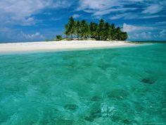 Empty Beach, Bahamas