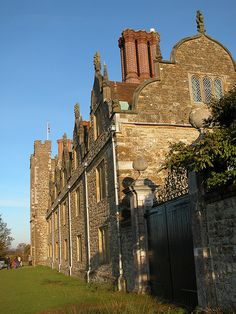 Knole House, on which Halstead Hall is based. -Sabrina Jefferies Character -hellions Of Halstead Hall series.