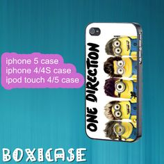 Despicable Me Minion---iphone 4 case,iphone 5 case,ipod touch 4 case,ipod touch 5 case,cute iphone 4 case,in plastic,silicone by Boxicase, $14.95