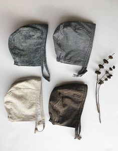Linen Baby Bonnet in Dark Brown Neutral Baby Bonnet SpringDenim Baby Sun Bonnet for Boys or Girls Baby Outfits, Kids Outfits, Baby Fall Fashion, Kids Fashion, Baby Boy Hats, Baby Boys, Gender Neutral Baby Clothes, Baby Bonnets, Organic Baby Clothes