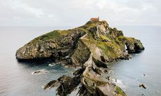 Dating back to the 10th century, Gaztelugatxe, a must see in person. Basque region of Spain. For Bon Appetit.