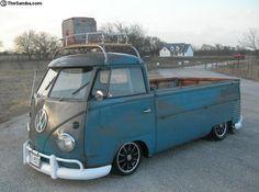 Vintage Volkswagen Bus, Volkswagen Type 2, Vw Bus T1, Volkswagen Transporter, Vw T1 Camper, Campers, Kombi Pick Up, Combi Split, Vw Pickup