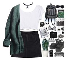 """Untitled #113"" by purikura ❤ liked on Polyvore featuring Eska, Prada, Dr. Martens, Chicnova Fashion, Stila, River Island, Timex 80, Urbanears, Karen Walker and Acne Studios"