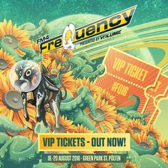 Frequency, Vip Tickets, Ab Sofort, Green Park, Comic Books, Festival 2016, Comics, Glamour, Cards