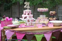 Pink cowgirl Birthday Party Ideas | Photo 7 of 33 | Catch My Party