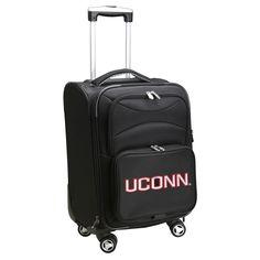 NCAA UConn Huskies Spinner Carry On Suitcase