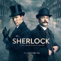 Sherlock | Revelada a data de estreia para o episódio especial de Natal | Série Maníacos