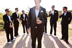 An Elegant Fashion-Inspired South African Wedding: Matt & Sarah
