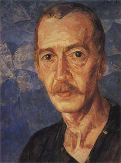 Portrait S.D. Mstislavsky, 1929  Kuzma Petrov-Vodkin