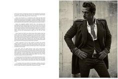 "Sam Webb in ""The True Gentleman"" shot in London by Arseto Adiputra for the November-December 2014 Issue of Men's Folio Indonesia"