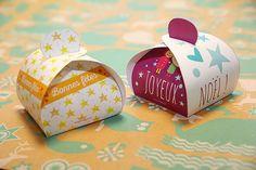 Les boîtes cadeaux (format A3) à imprimer ! - gabarits gratuits à télécharger !