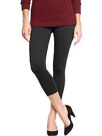 Women's Cropped Jersey Leggings - to pattern/make